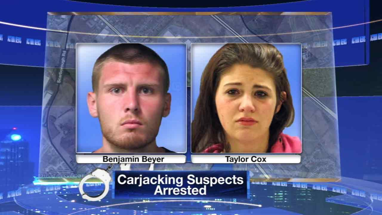 2 arrested in carjacking at Dover Mall