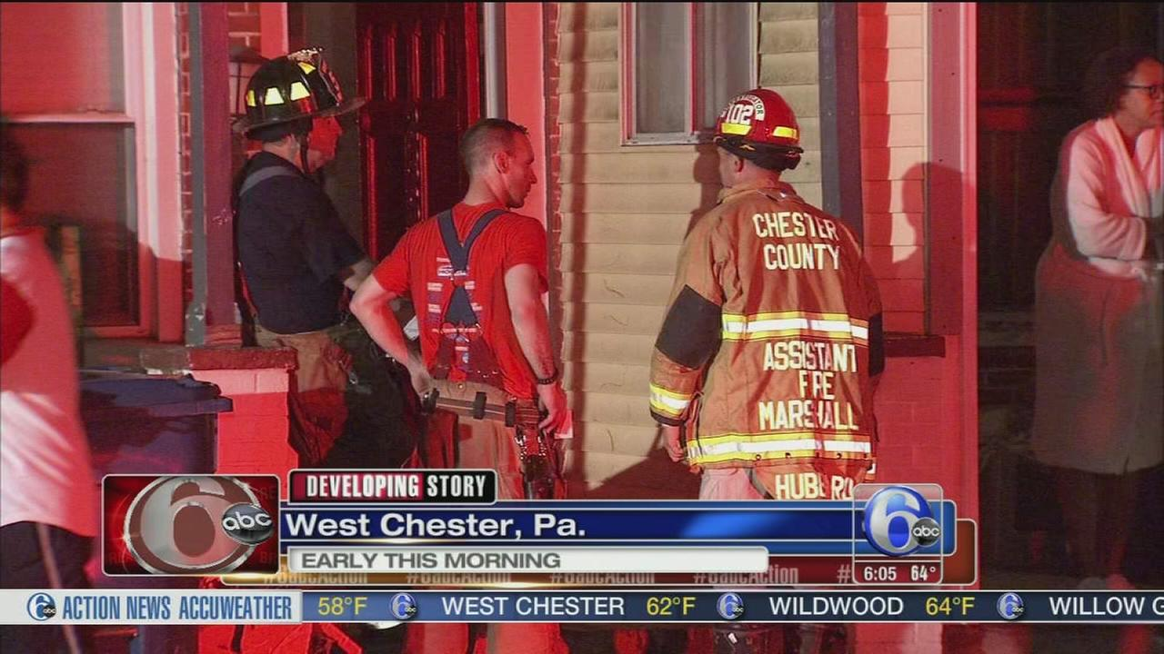 VIDEO: Fire damages apartment building