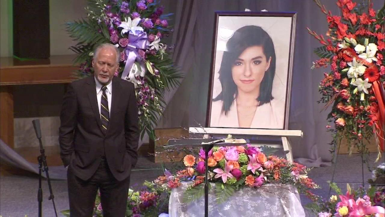 Family and friends gathered Friday night in New Jersey to remember The Voice singer Christina Grimmie.