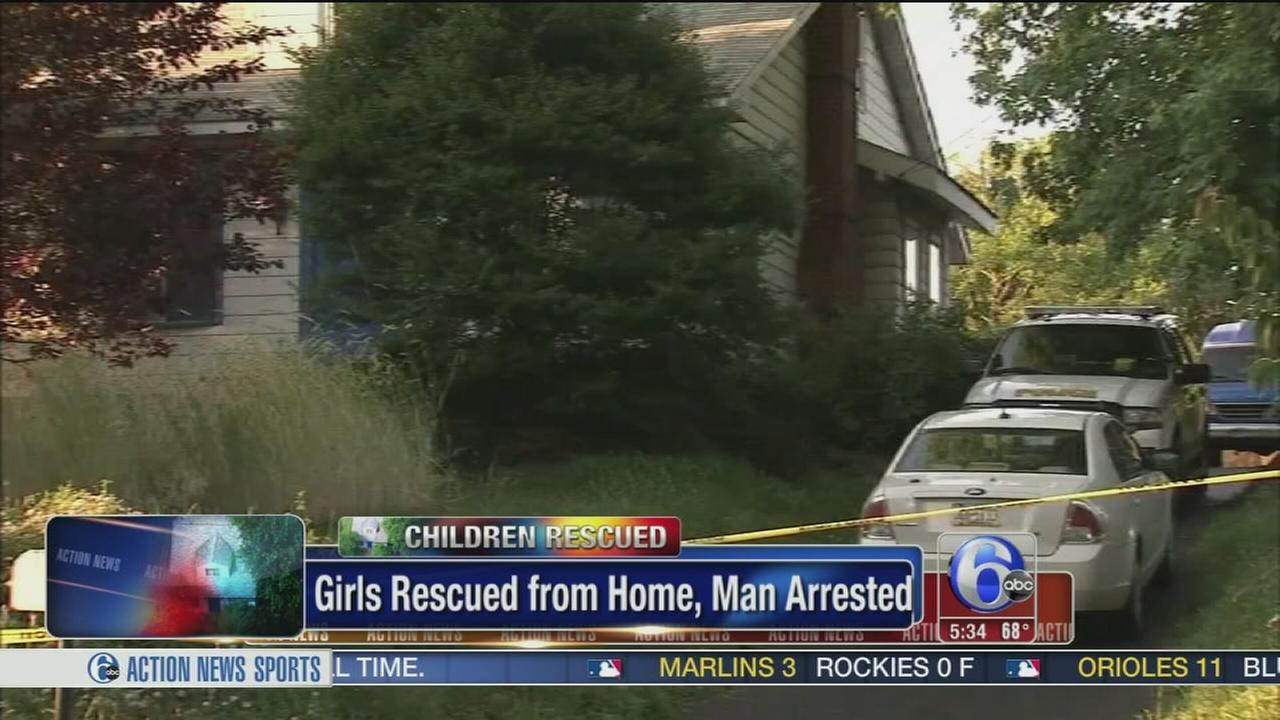 VIDEO: Girls rescued from Bucks Co. home