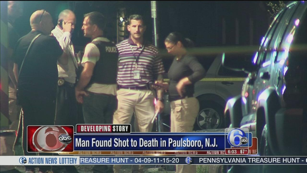 VIDEO: Man shot and killed in Paulsboro