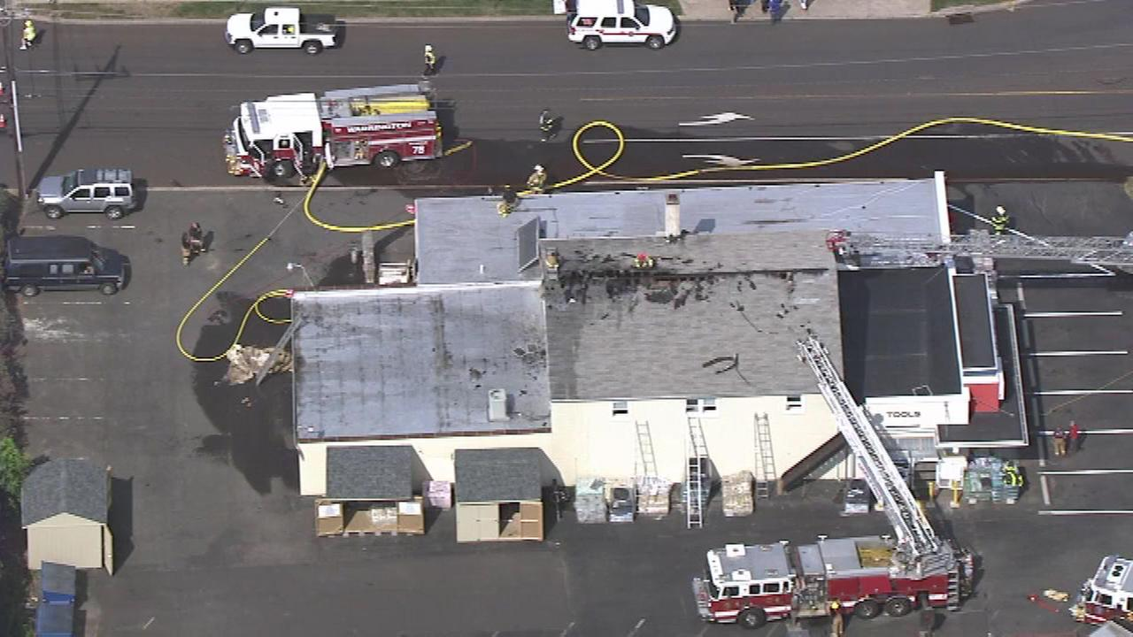 June 20, 2016: The call went out at 9:17 a.m. for a fire at Chalfont Hardware in the 200 block of East Butler Avenue.