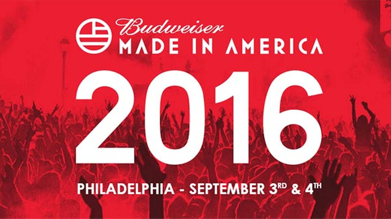 Road closures for Made in America festival announced; begin Sunday