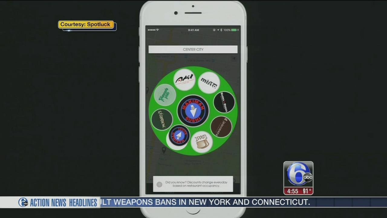 VIDEO: Spotluck app helps you find local dining discounts