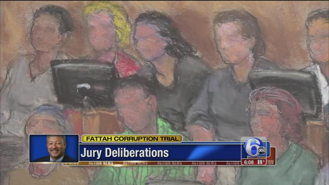 VIDEO: Fattah jury deliberations