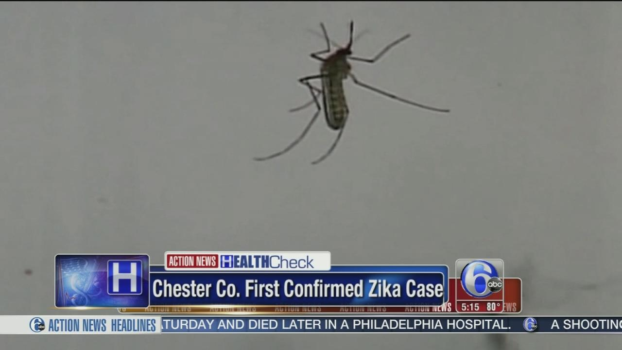 VIDEO: First confirmed Zika case in Chester Co.