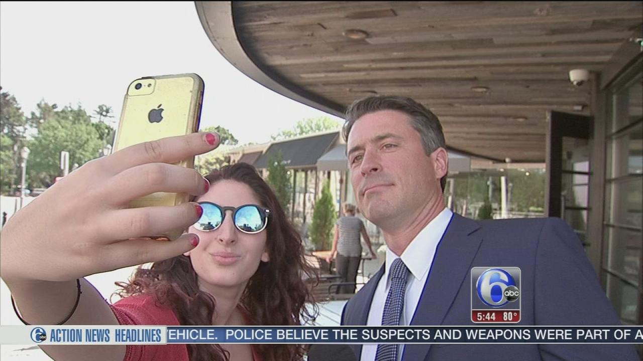 VIDEO: Matt ODonnell celebrates National Selfie Day