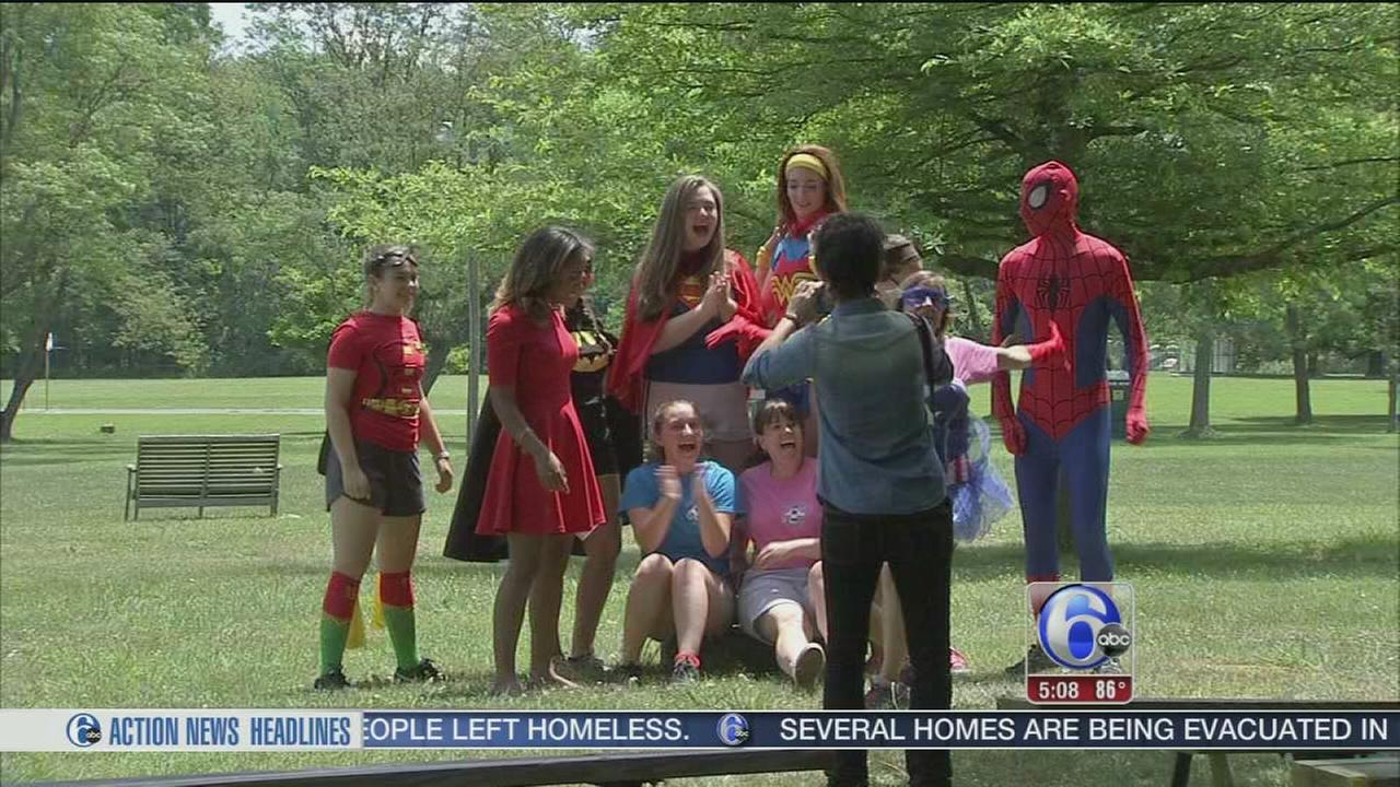 VIDEO: Day of fun for children grieving a loved one
