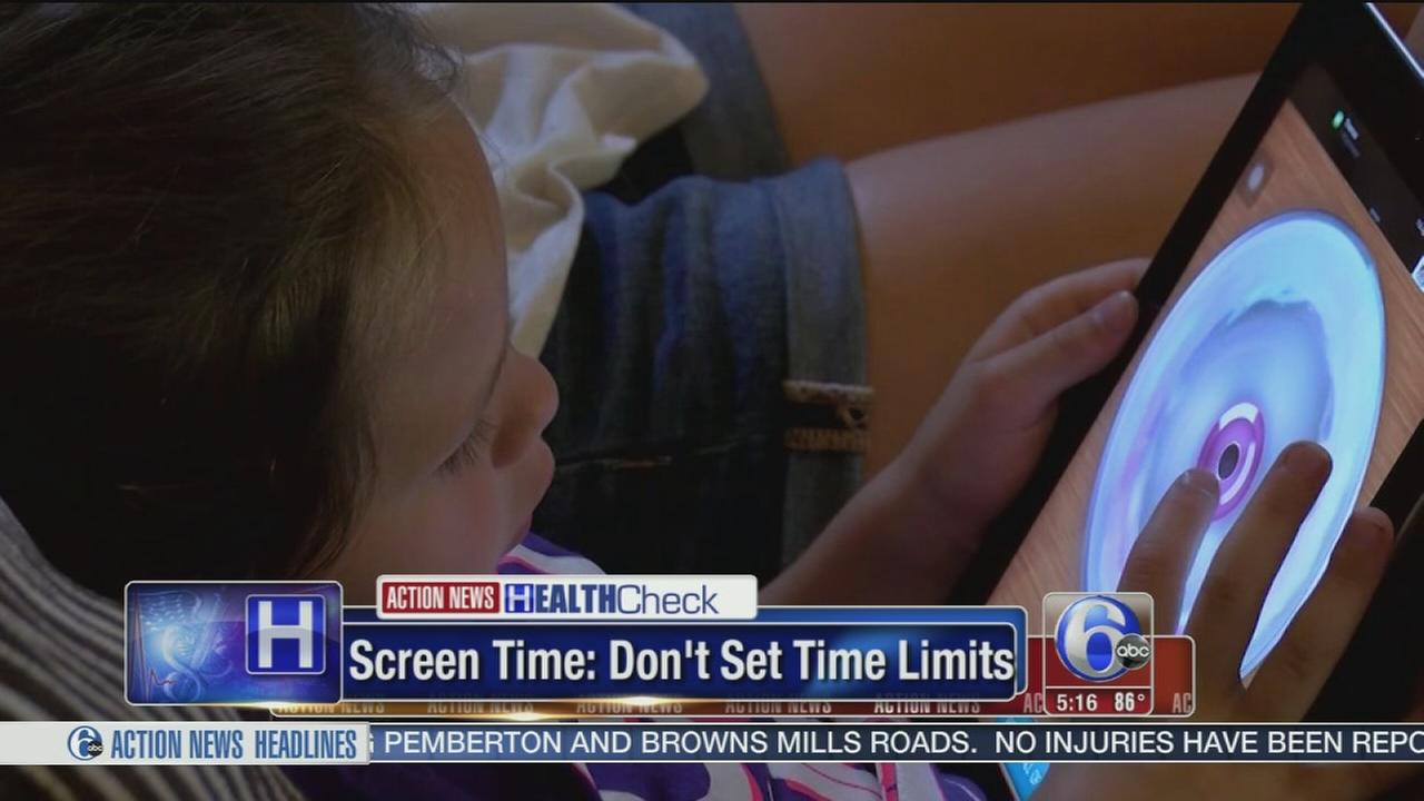 VIDEO: Screen time for kids