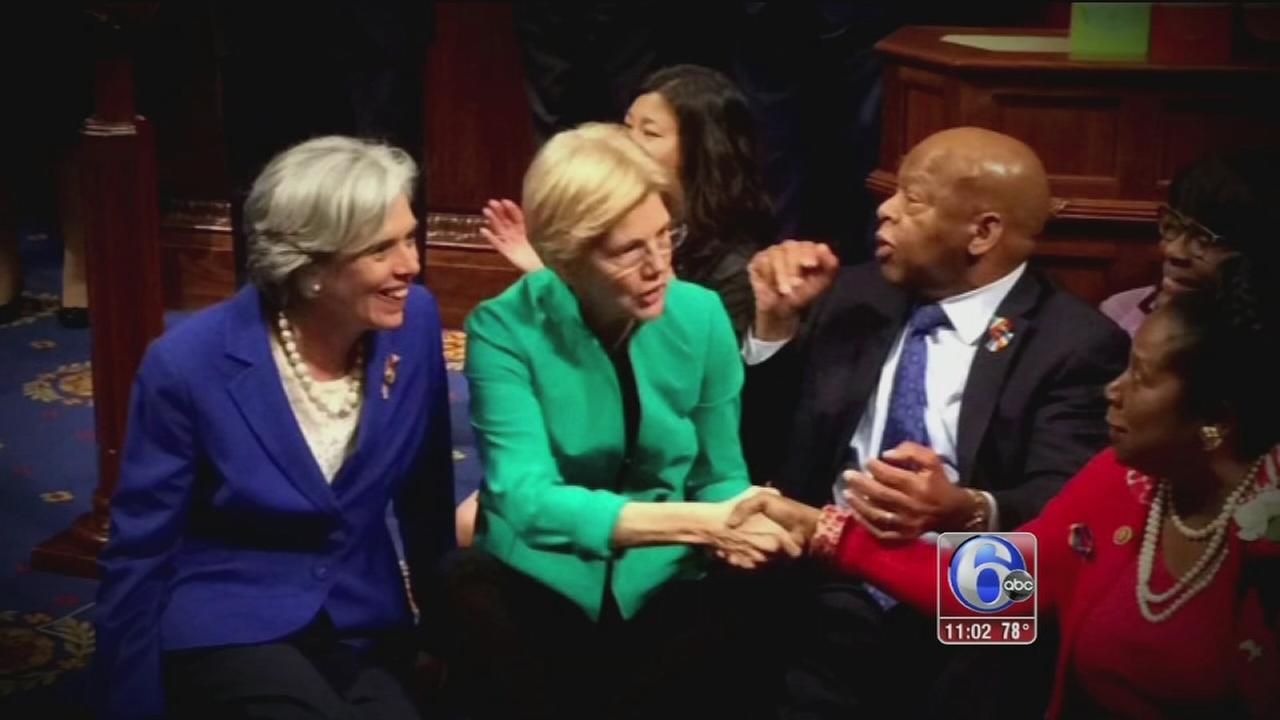 VIDEO: Congress sit-in