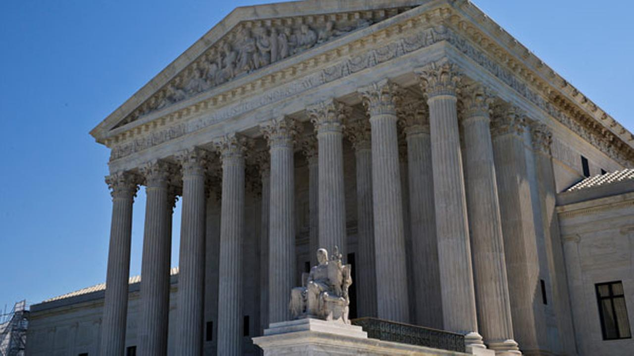 In this June 20, 2016, photo, The Supreme Court is seen in Washington.