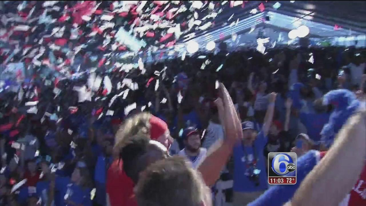 VIDEO: Sixers fans