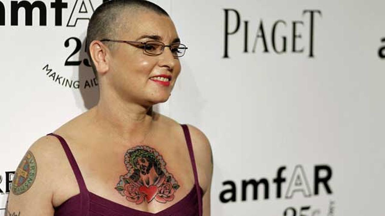 Sinead OConnor arrives at amfARs Inspiration Gala in Los Angeles, Thursday, Oct. 27, 2011. The Gala benefits AIDs research worldwide.