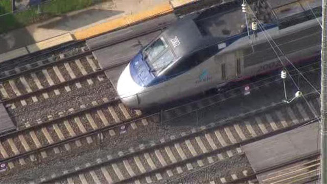 Person struck, killed by Amtrak train in Sharon Hill