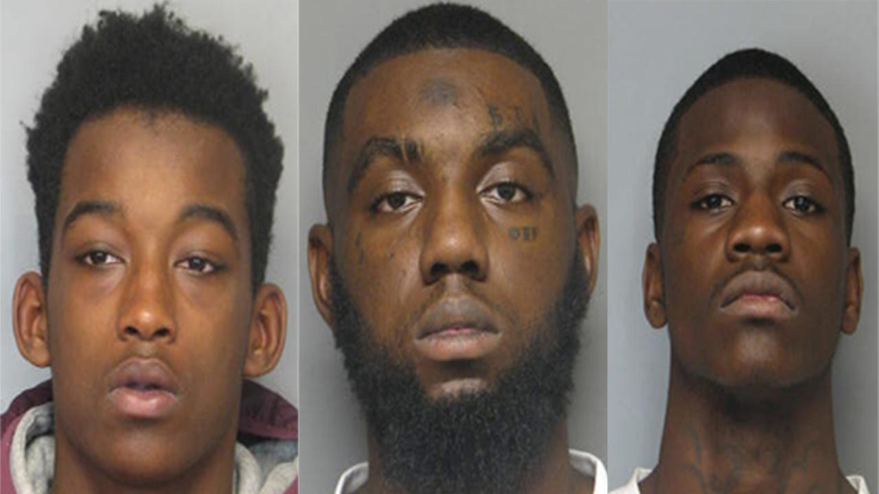 Three men have been charged in the shooting death of a 15-year-old Howard High School of Technology student.
