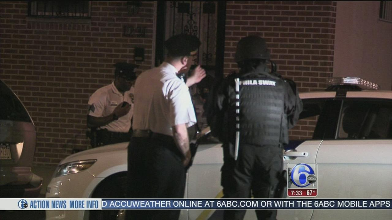 VIDEO: Man in custody after barricade situation in Point Breeze
