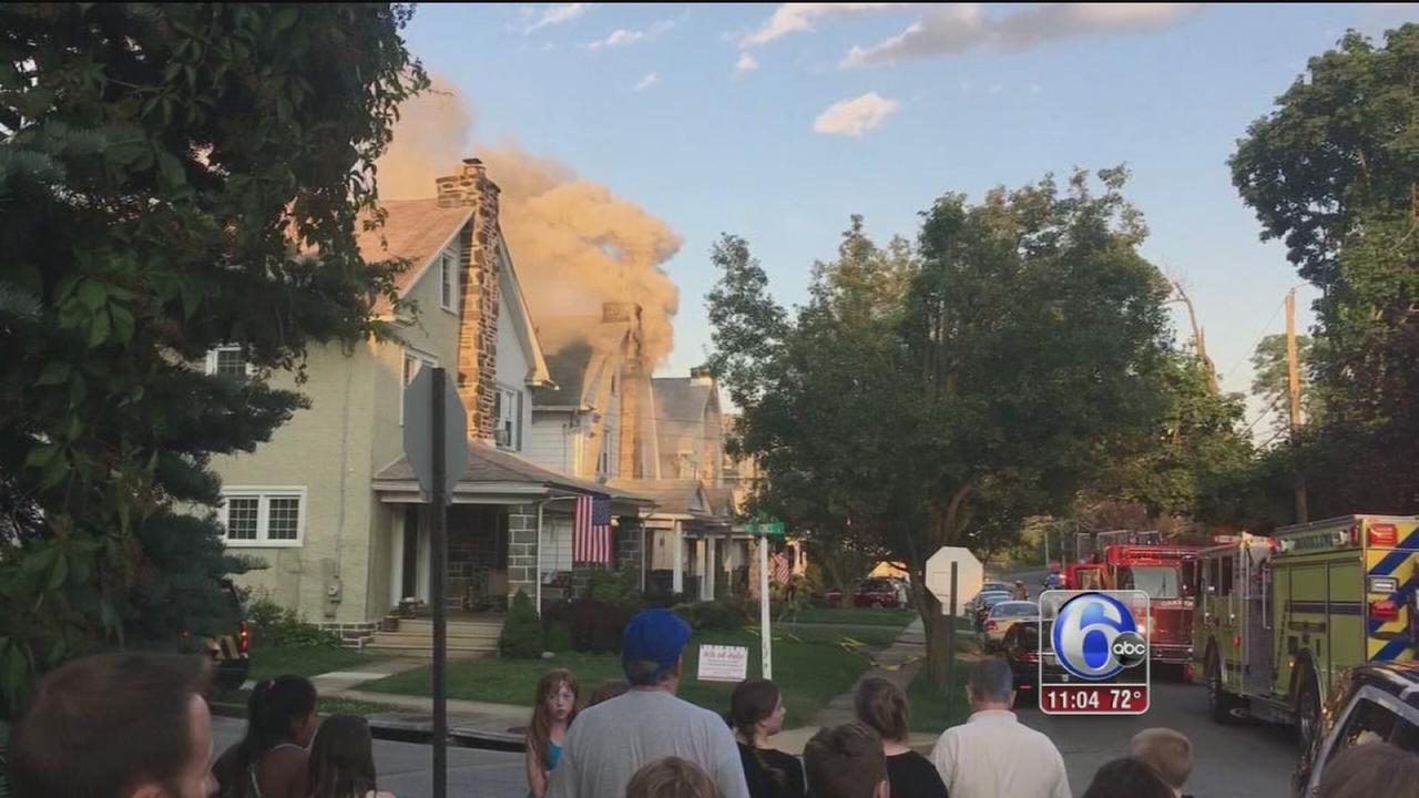 VIDEO: Haverford fire