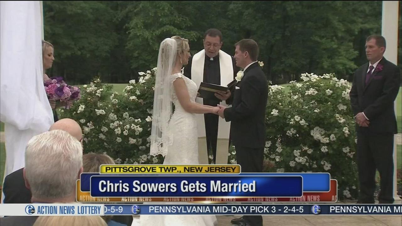 VIDEO: Chris Sowers gets married