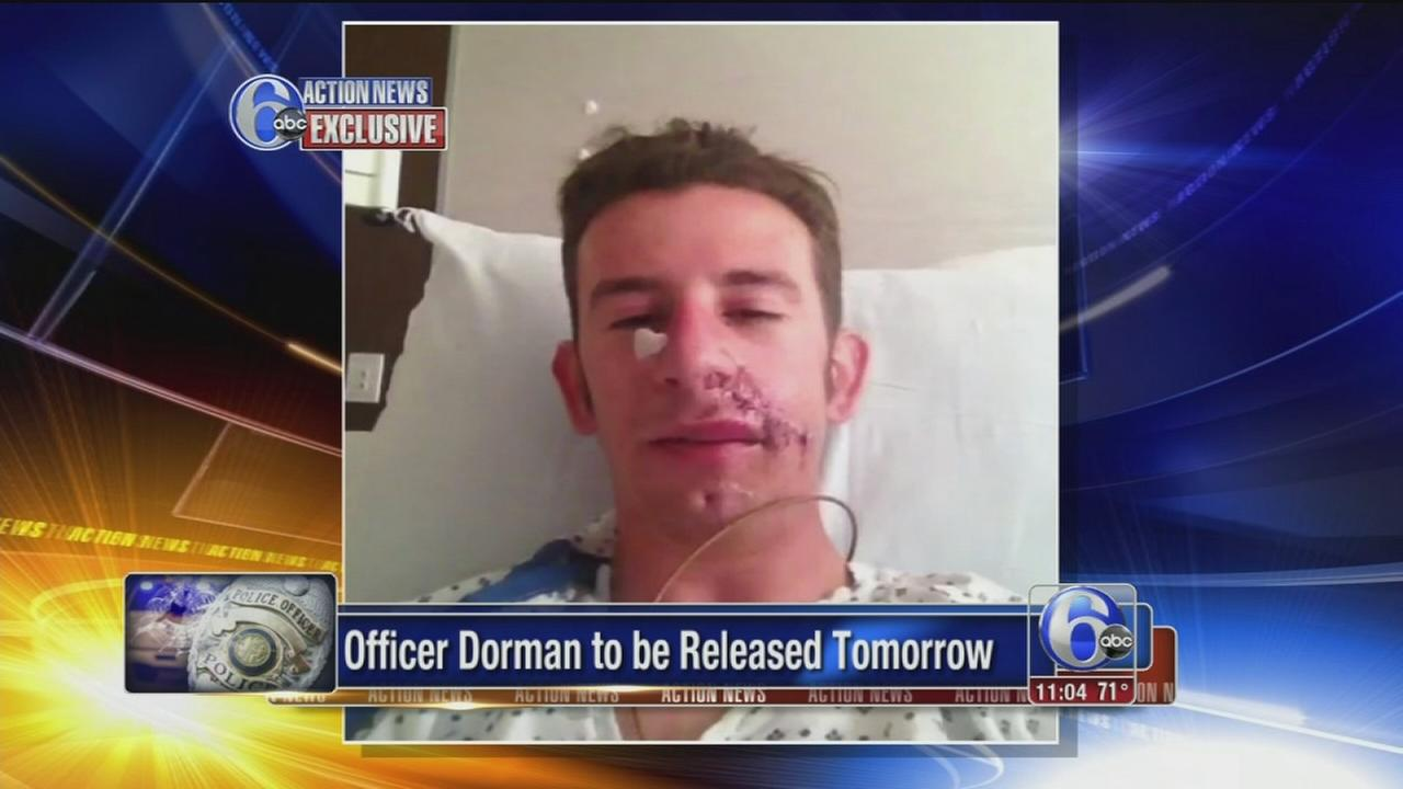 VIDEO: Officer going home