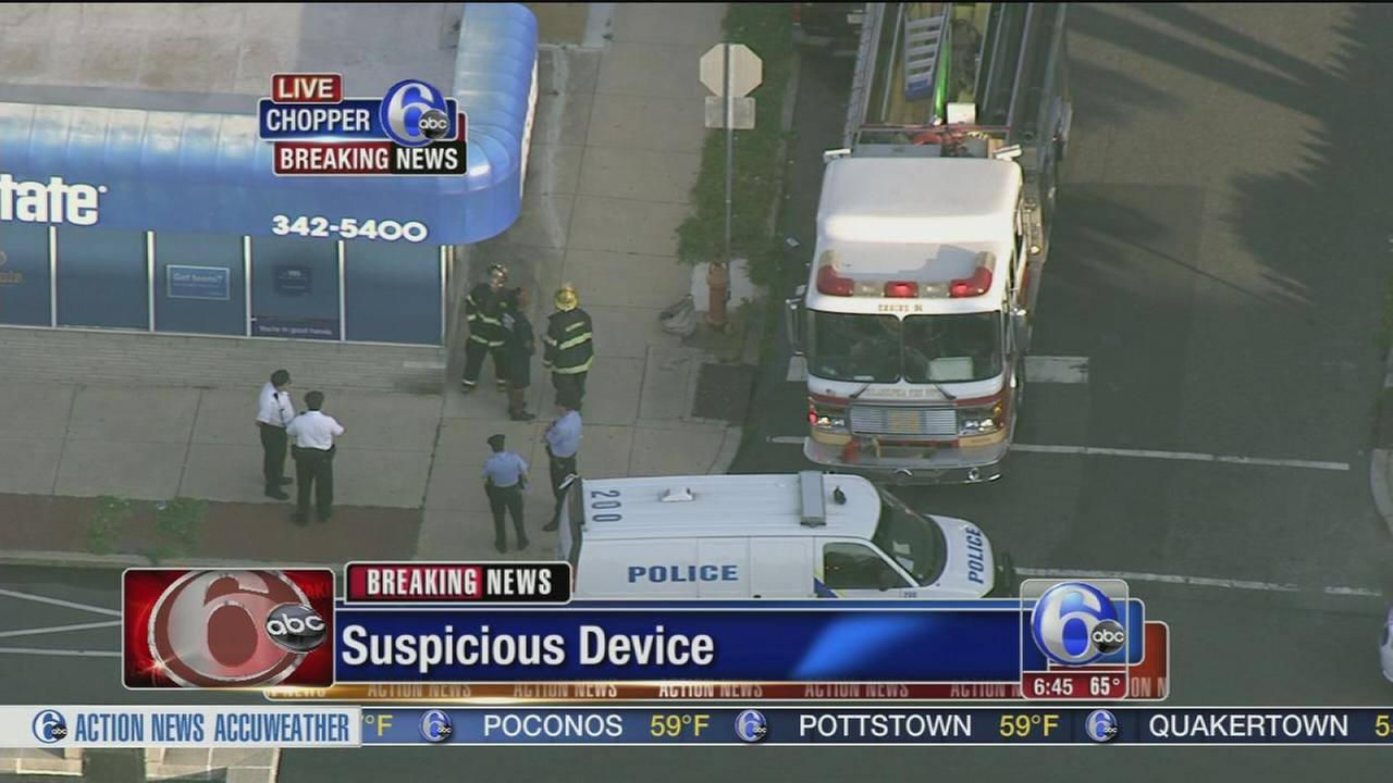 VIDEO: Suspicious device in Lawndale