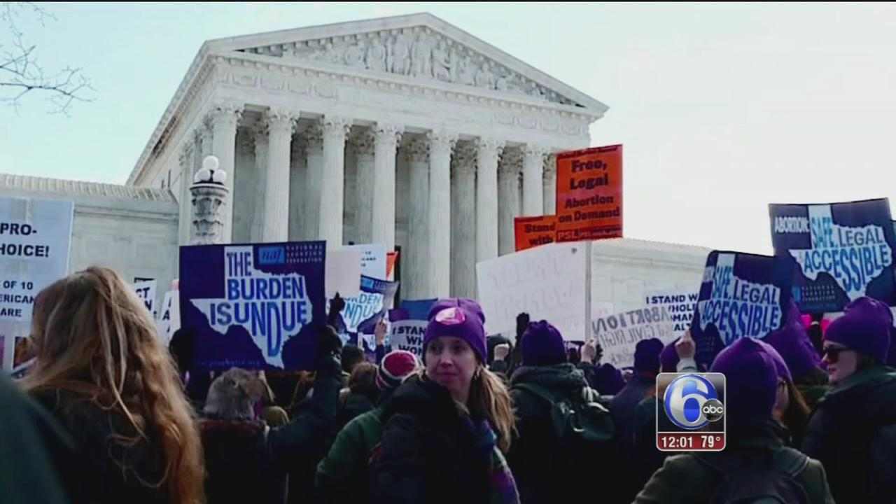 VIDEO: Supreme Court strikes down Texas abortion clinic regulations