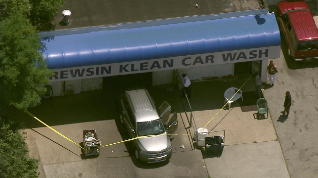 June 27, 2016: It happened at 11:52 a.m. at the Krewsin Klean Car Wash in the 9200 block of Krewstown Road in Bustleton.