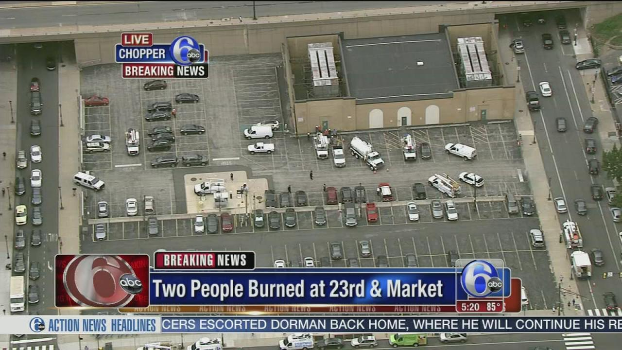 VIDEO: Incident at Center City substation