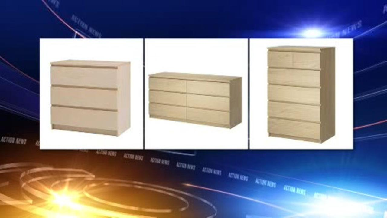 IKEA recalling 27 million dressers after third child dies