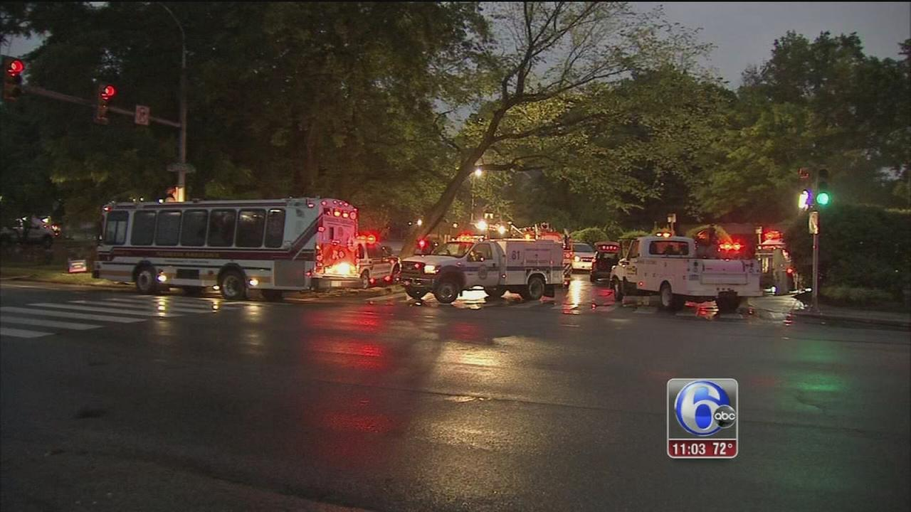 VIDEO: Hazmat situation in Lower Merion