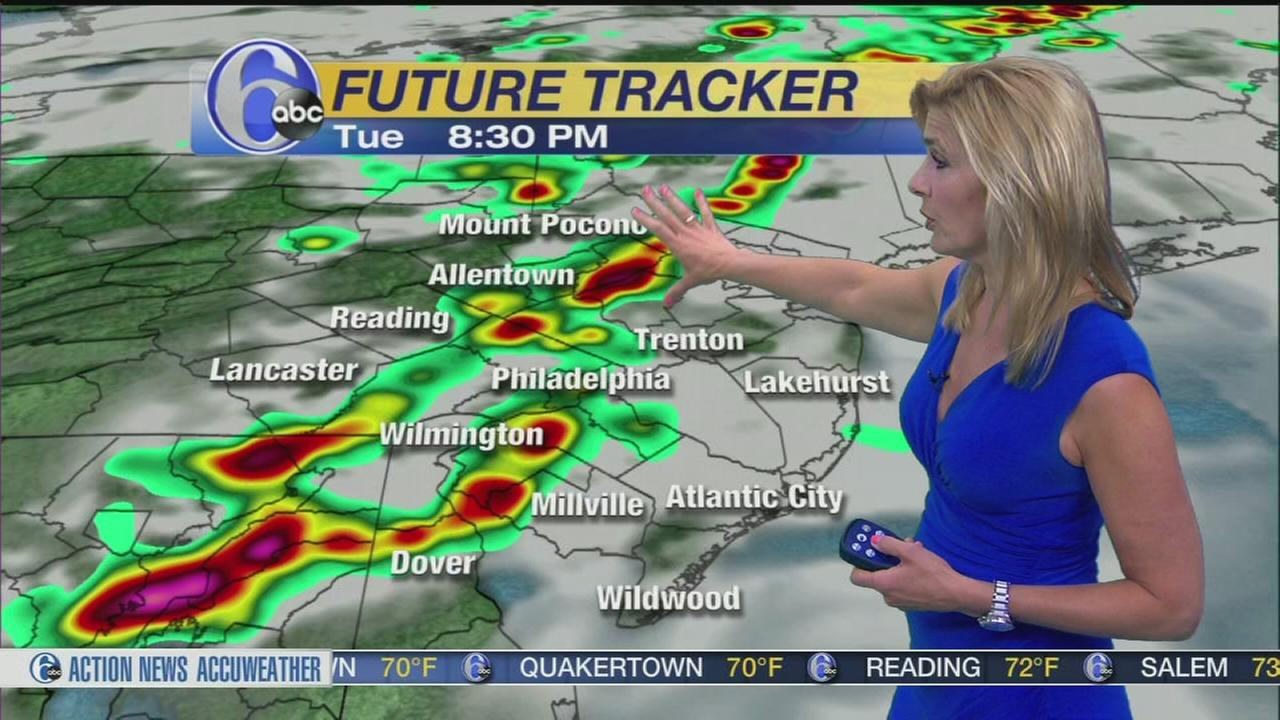 VIDEO: Karen Rogers with AccuWeather