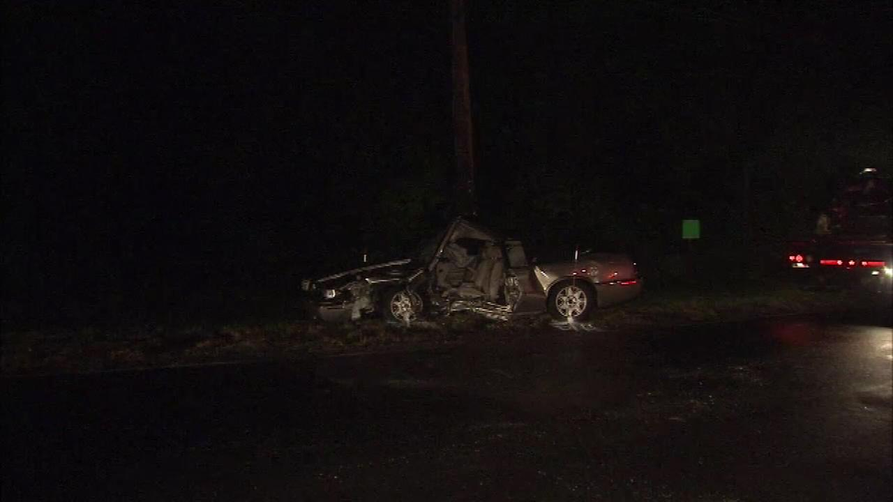 June 28, 2016: Police say one vehicle was attempting to turn and was hit by an oncoming vehicle.  It happened at the intersection of Frosty Hollow Rd. And Upper Orchard Dr.