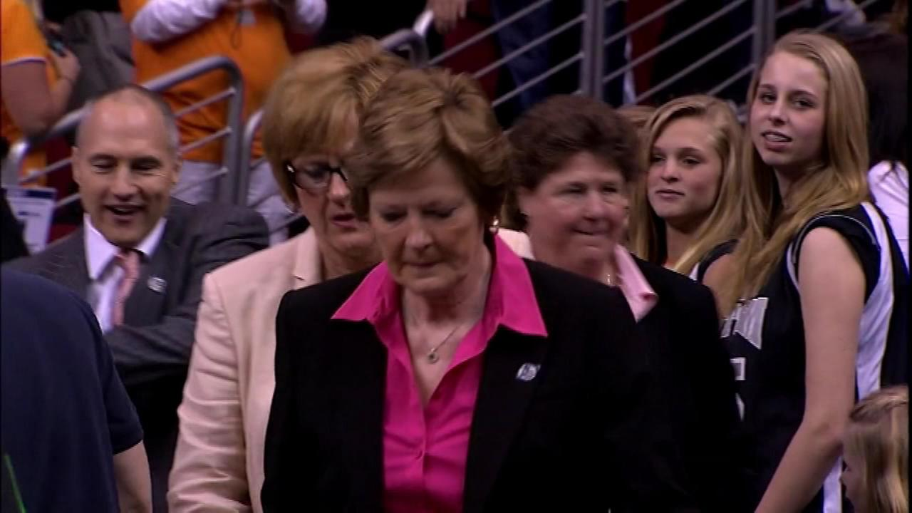 Pat Summitt led the Lady Vols to eight national championships until she retired in 2012.