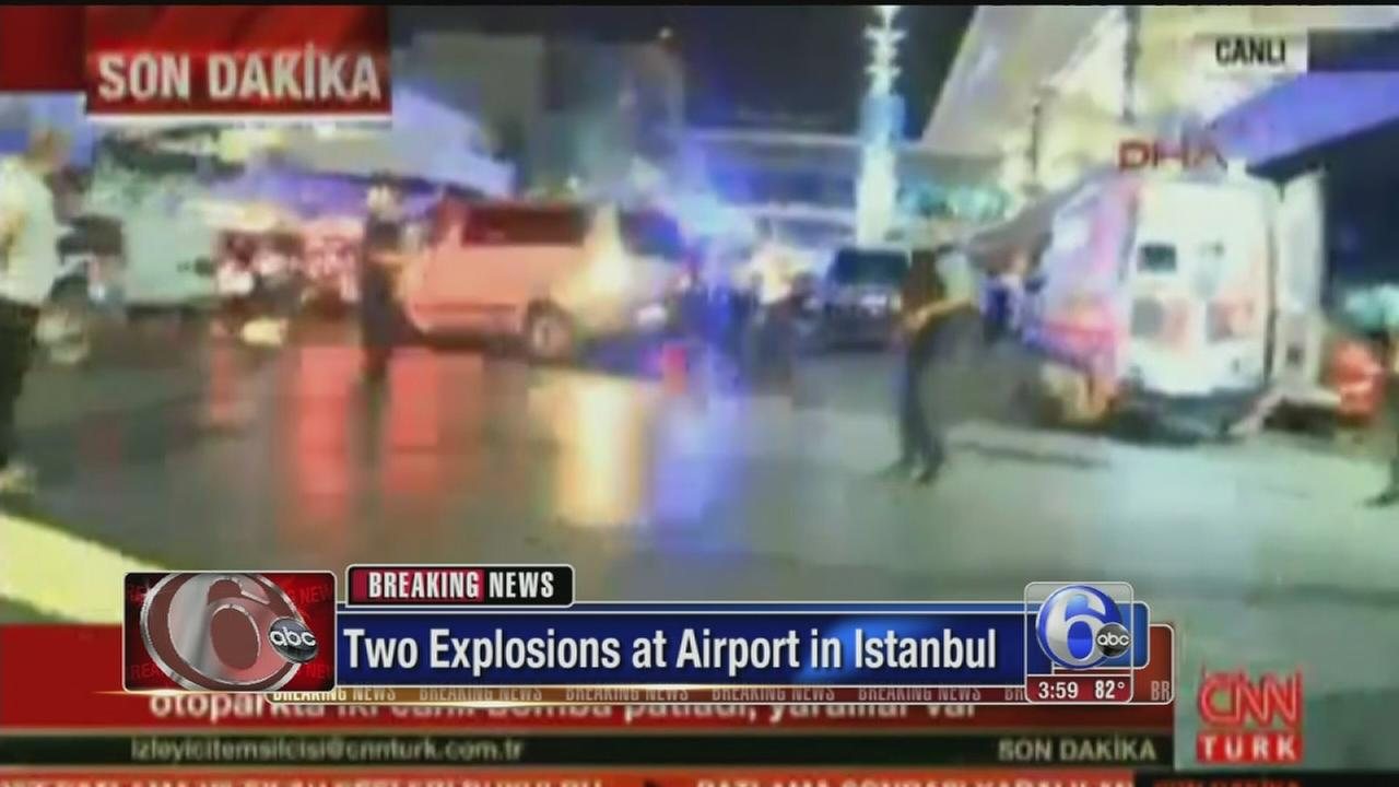 VIDEO: Explosions hit airport in Istanbul