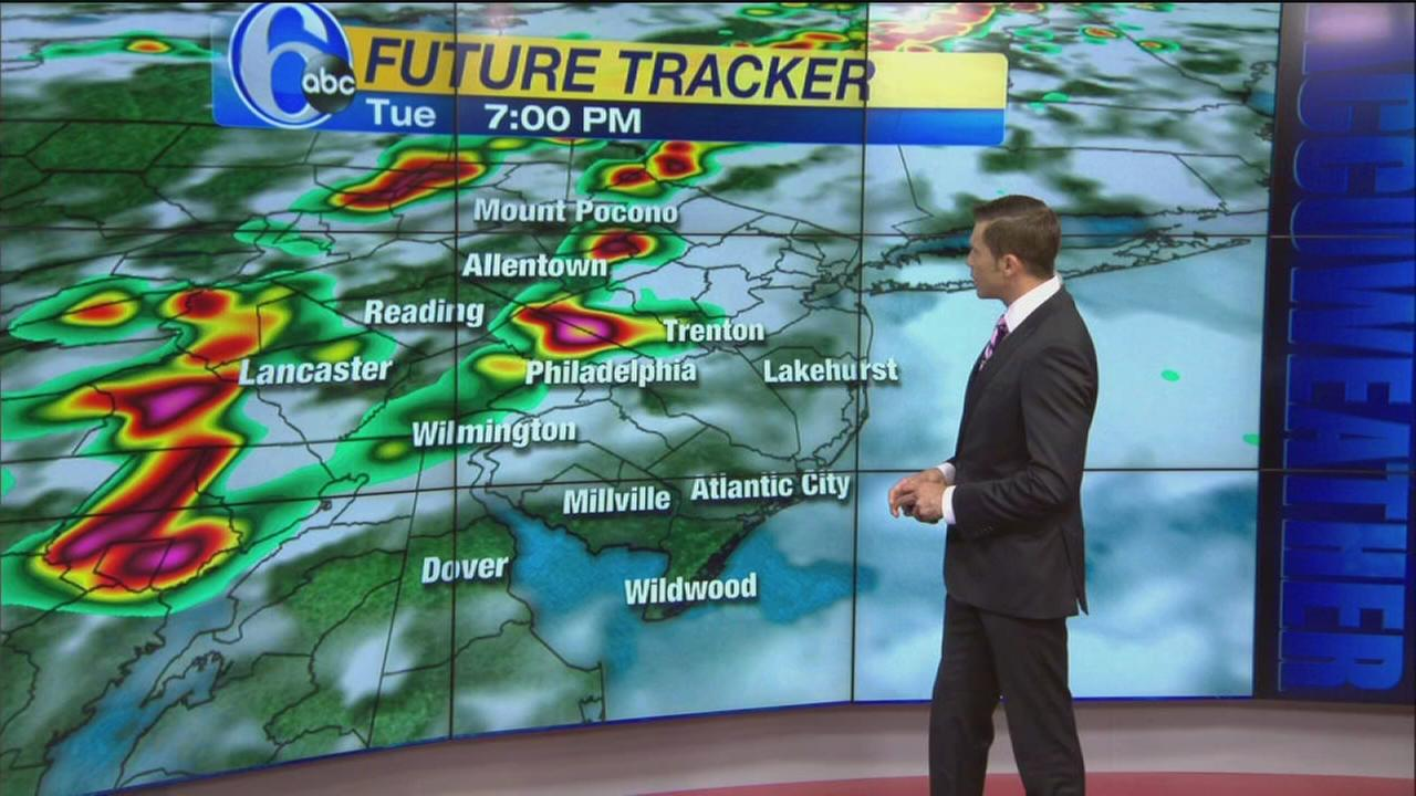 VIDEO: Adam Joseph with the latest from AccuWeather