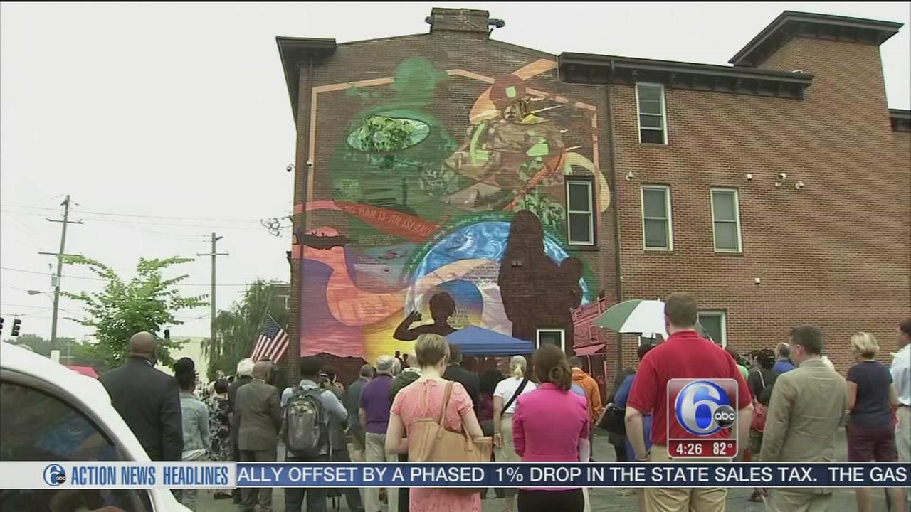 Veterans Freedom Mural