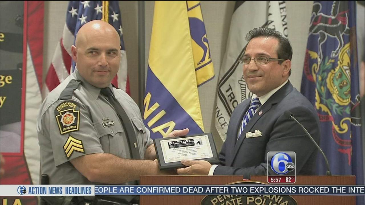 State trooper awarded medal of honor