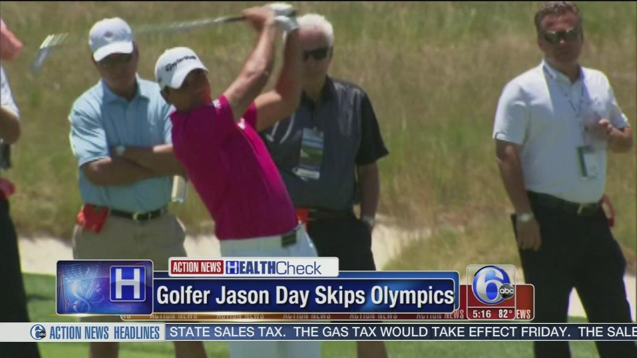 VIDEO: Golfer Jason Day skips Rio
