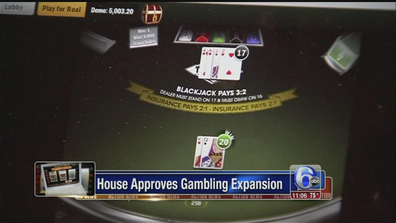 VIDEO: House approves gambling expansion