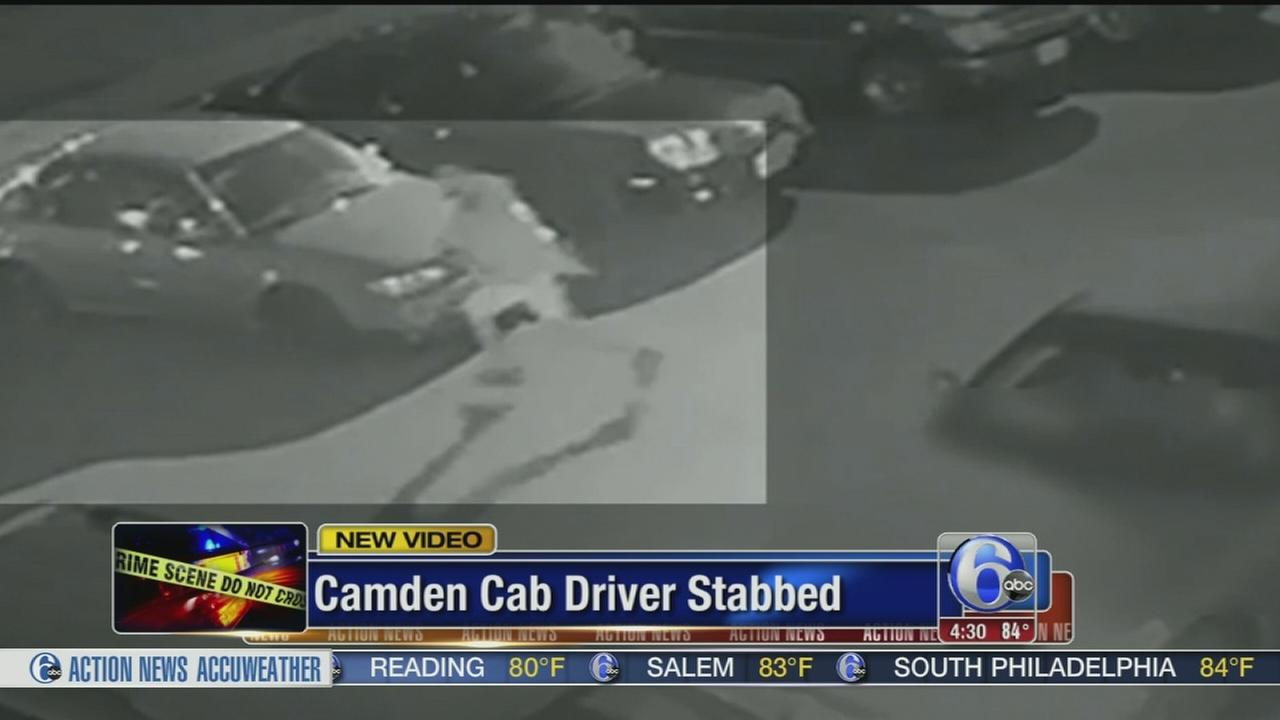 Video released of suspect in Camden cab driver stabbing