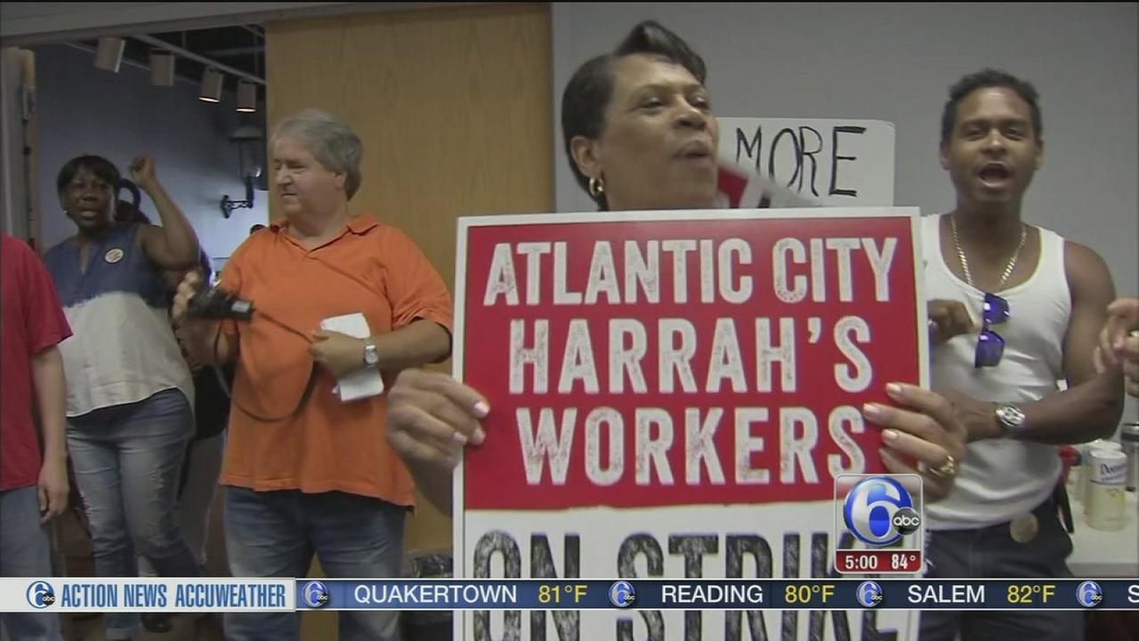 VIDEO: Casino worker strike looms in Atlantic City