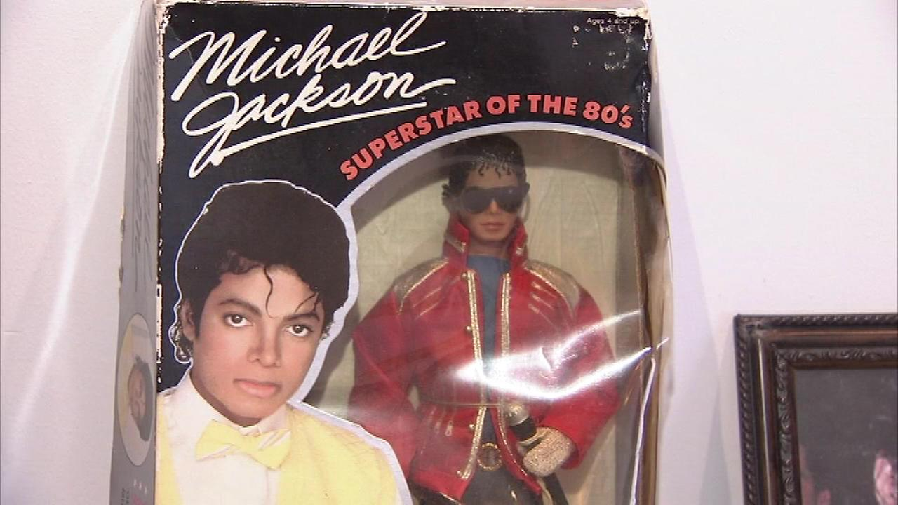 The largest Michael Jackson collection on the East Coast is on display in Wilmington, Delaware.