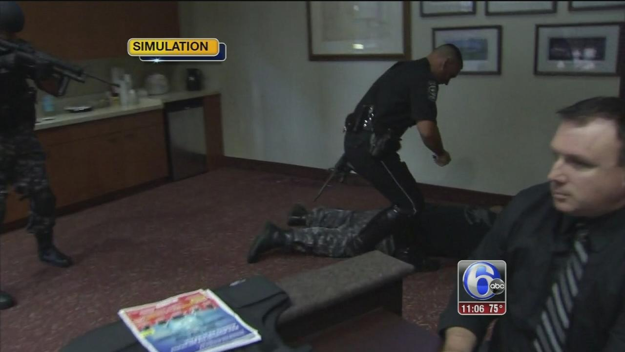 VIDEO: Active shooter training