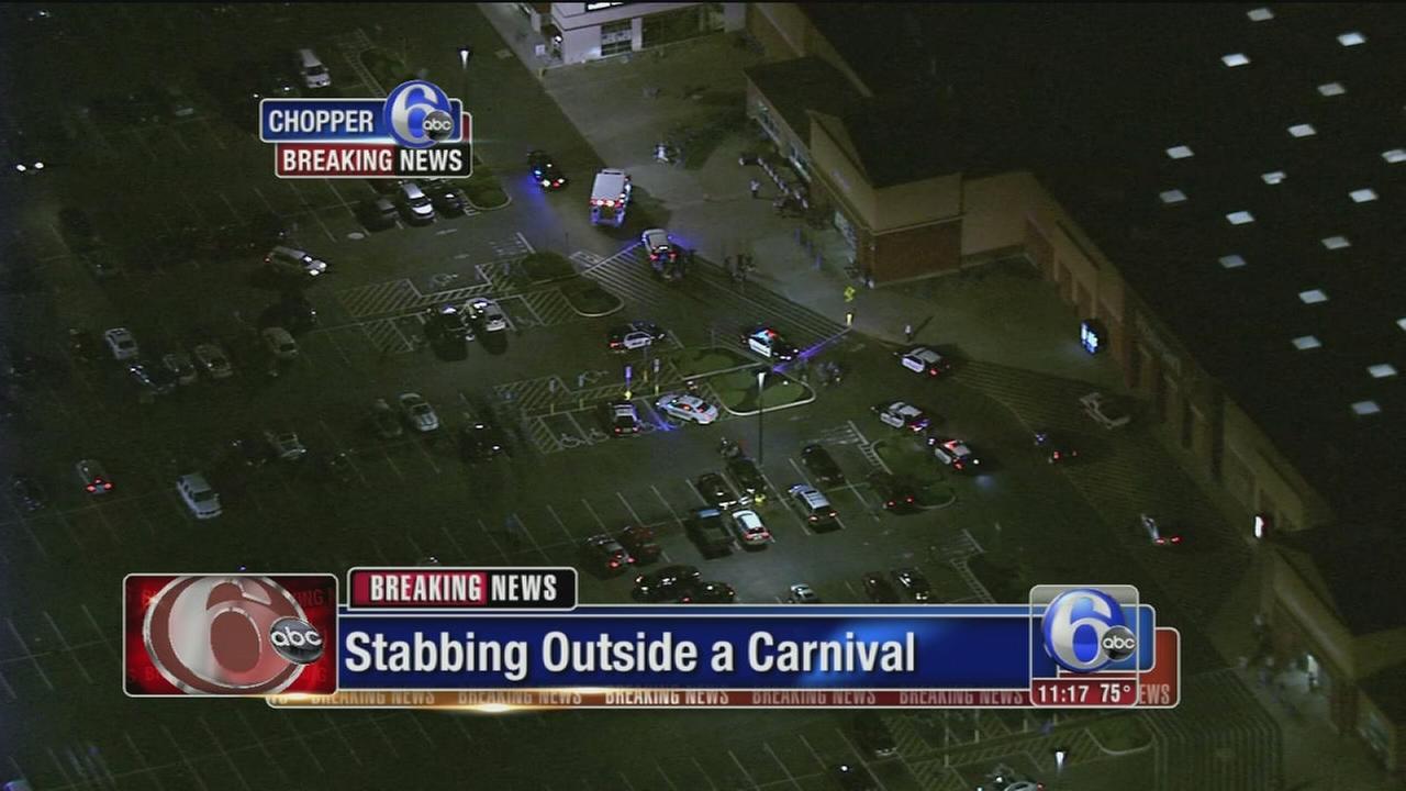 VIDEO: Carnival stabbing