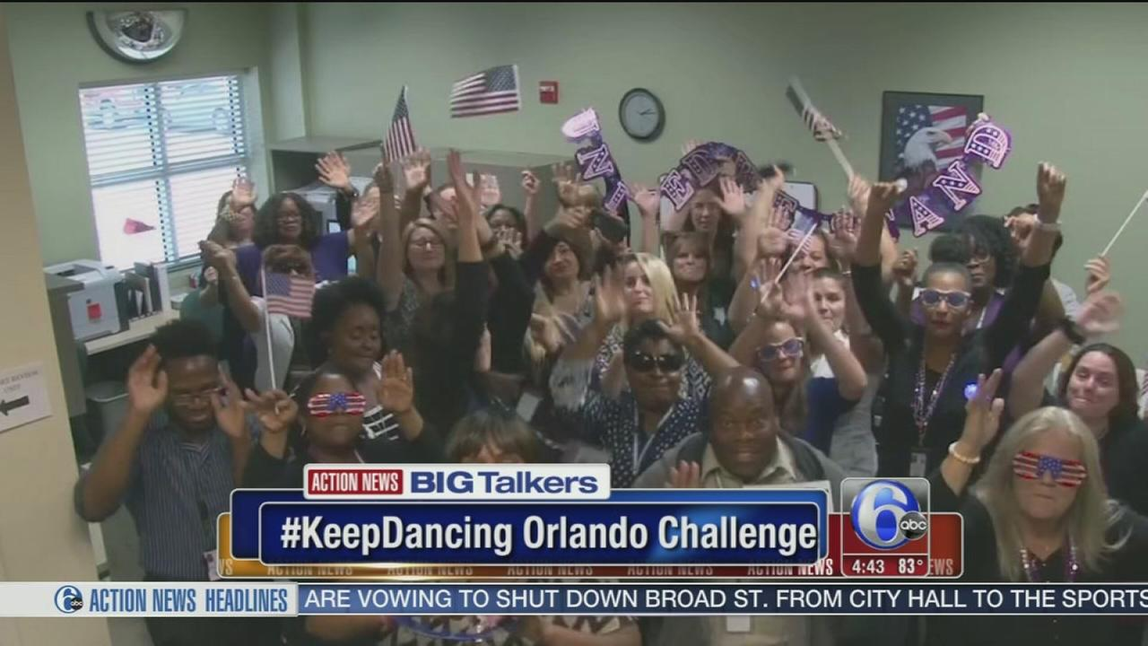 VIDEO: #KeepOrlandoDancing challenge goes viral