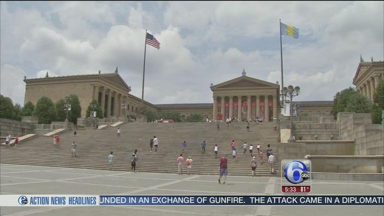 VIDEO: Philly police step up security for July 4th events