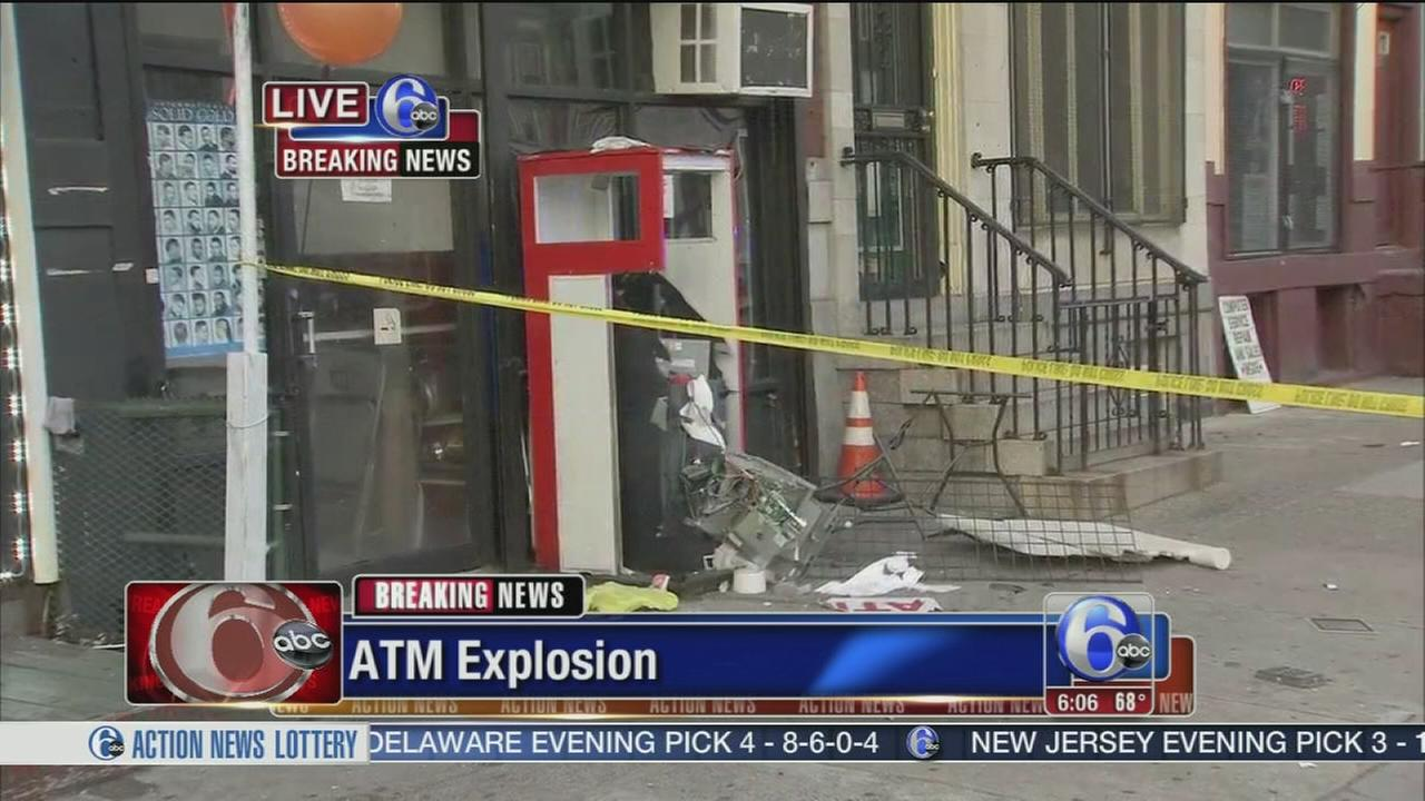 VIDEO: ATM targeted with explosive