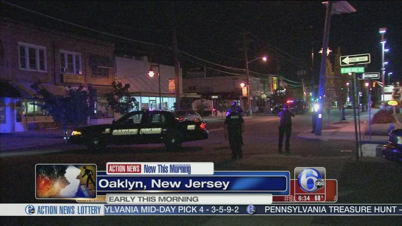 VIDEO: Pedestrian struck in Oaklyn, N.J.