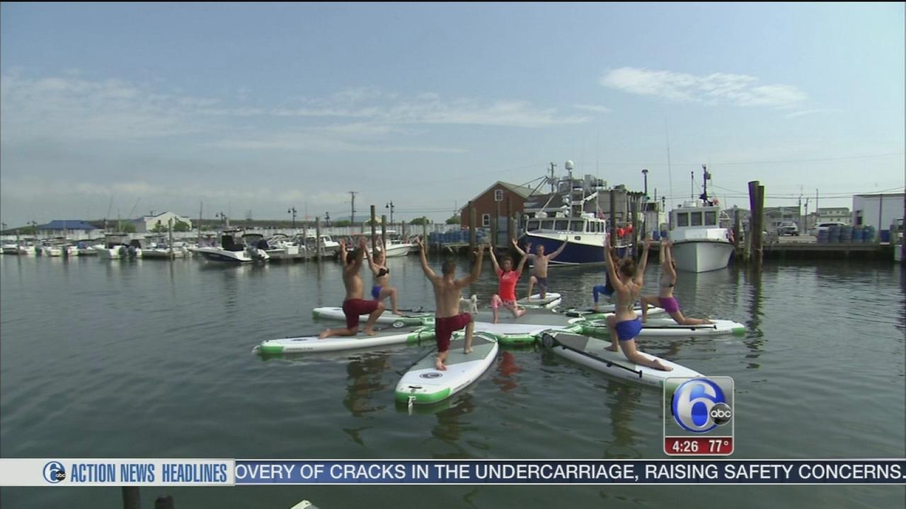 VIDEO: Shore fitness