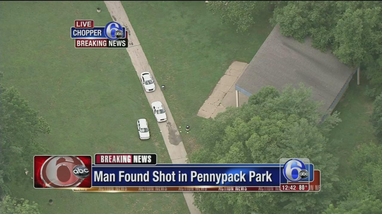 VIDEO: Man found shot in Mayfair