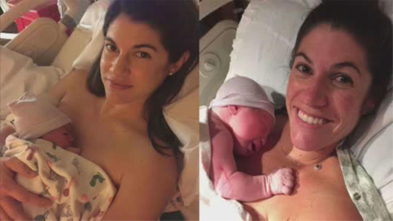Twins give birth at the same time in different time zones